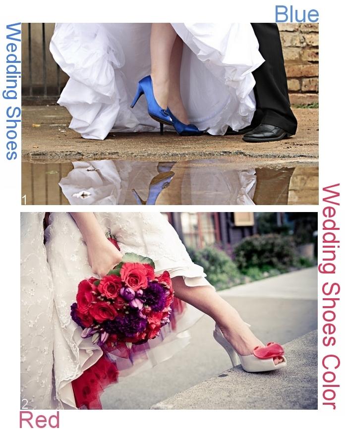 calzature sposa Vivien, calzature sposa blu, calzature rosse, idee alternative sposa, seconde nozze, sposa civile,