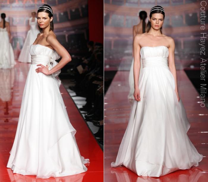 255771df63c8 Alta Moda Sposa Sfilate Milano - Couture Hayez Milano