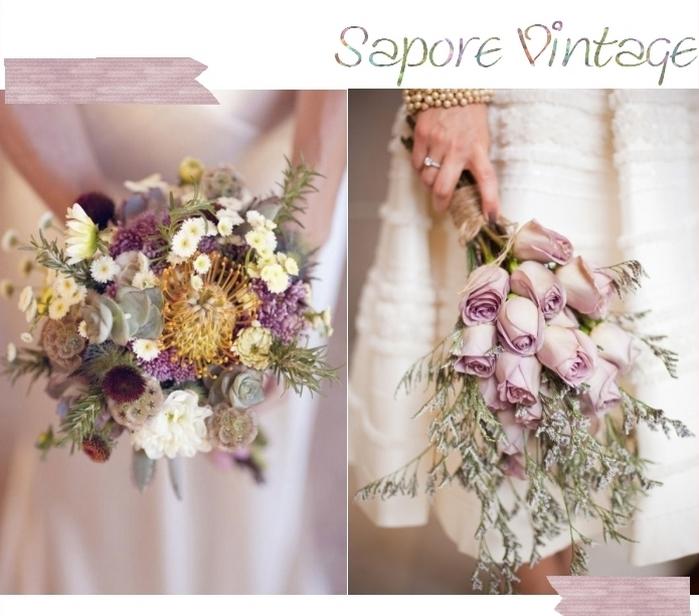 Bouquet Sposa Erbe Aromatiche.Bouquet Sposa Sapore Vintage Shabby Couture Hayez Milano