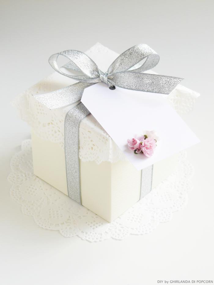 scatolina confetti e tag fai da te, foto scatoline confetti e tag, tutorial nozze,