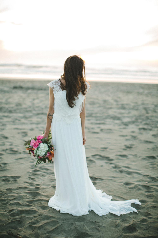 abito sposa Boho Chic, abito sposa al mare, abiti sposa in cotone e pizzo,