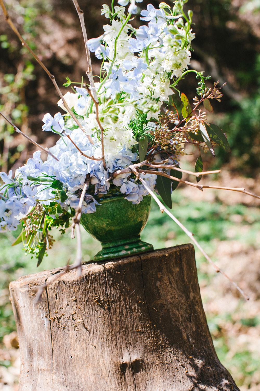 allestimenti floreali in giardino, bouquets alternativi estate