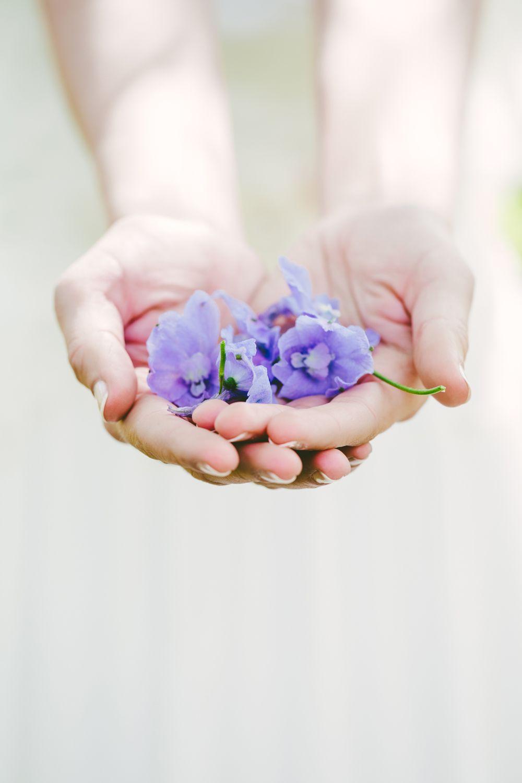 dettagli fiori sposa glicine,