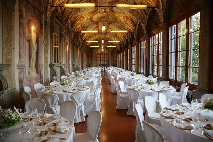 allestimento tavoli villa corsini wedding