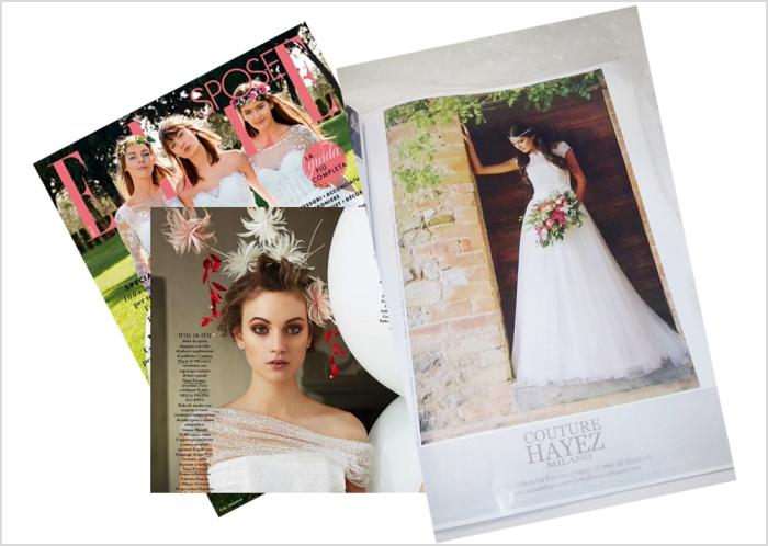 Couture Hayez on Elle dicembre 2014