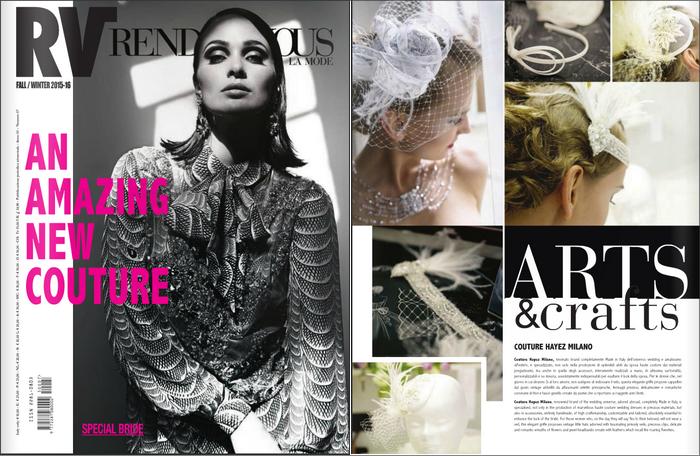 Couture Hayez magazine, couture hayez press, couture hayez on rendevous de la mode,