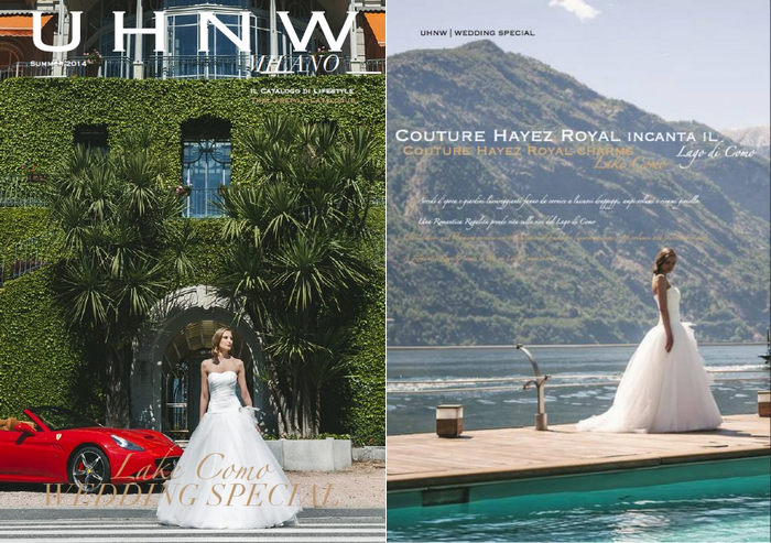 Couture Hayez su UHNW LUXURY MAGAZINE
