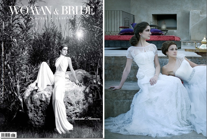 couture hayez on luxury wedding magazine woman e bride