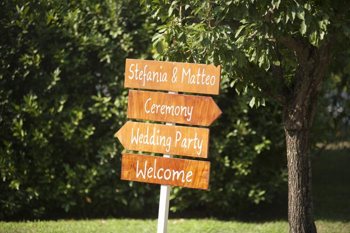 13 indicatori-in-legno-wedding-scritti-a-mano, indicazioni wedding in legno