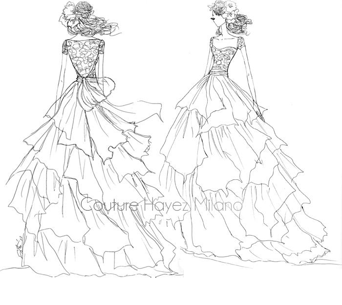 Matrimonio Country Chic Tra Le Colline Bolognesi Couture Hayez Milano