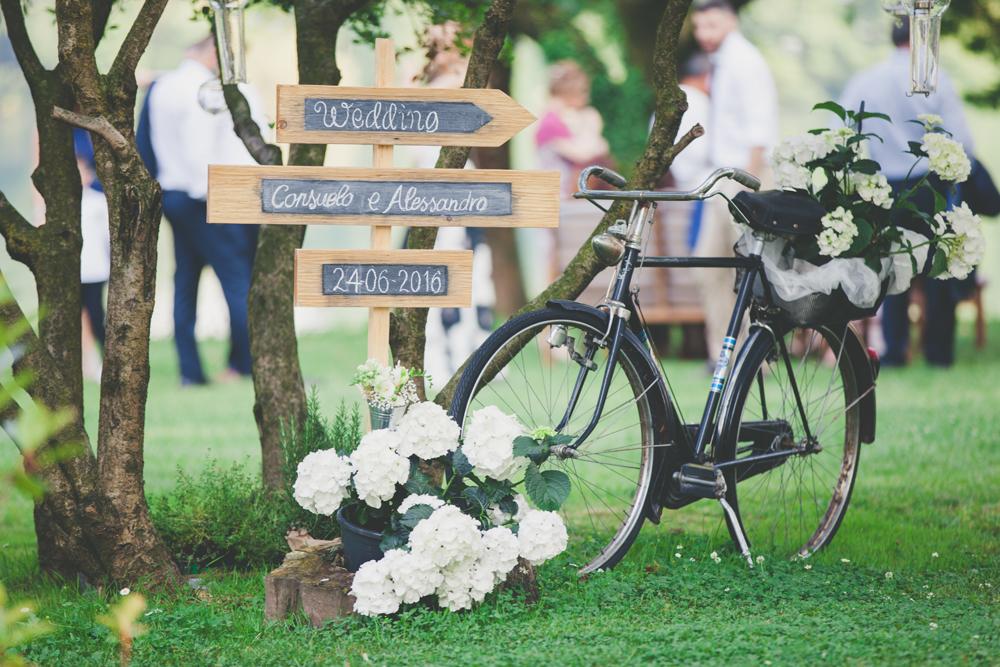 bicicletta matrimonio, idee allestimento matrimonio
