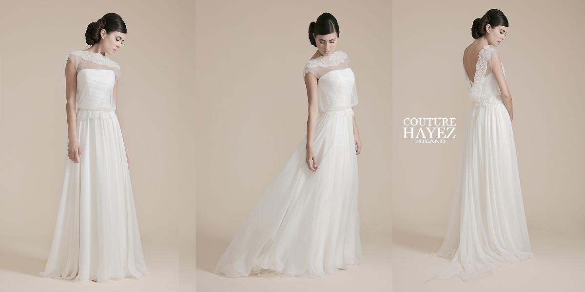 Preferenza Abiti Sposa Milano Atelier: Style Boho Chic - Couture Hayez Milano SC34