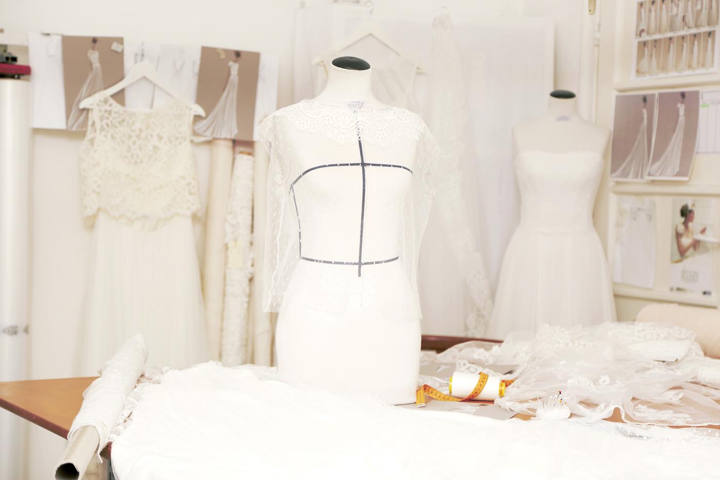 backstage laboratorio sposa