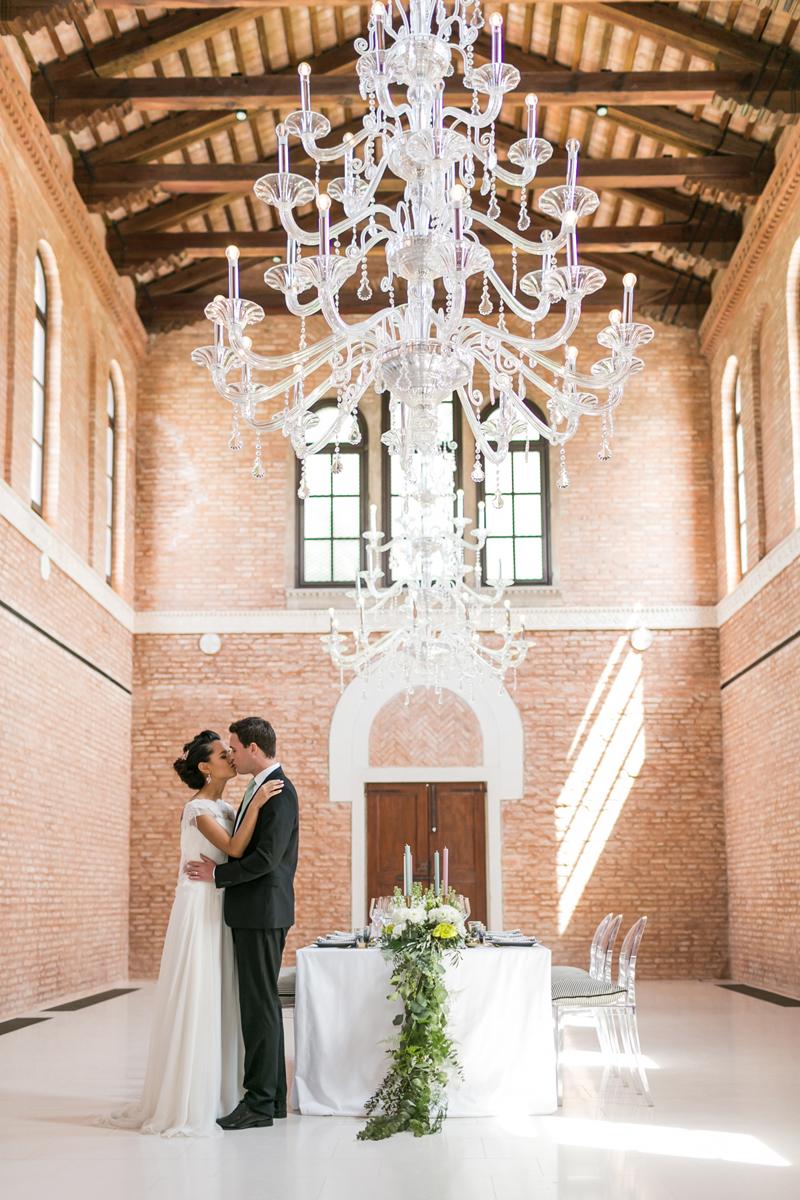 allestimento nozze, chiesa, isola delle rose, marriot Venice