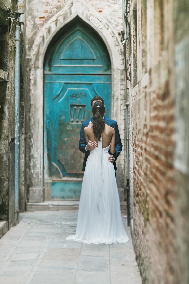 le calli di venezia,dettagli abito sposa