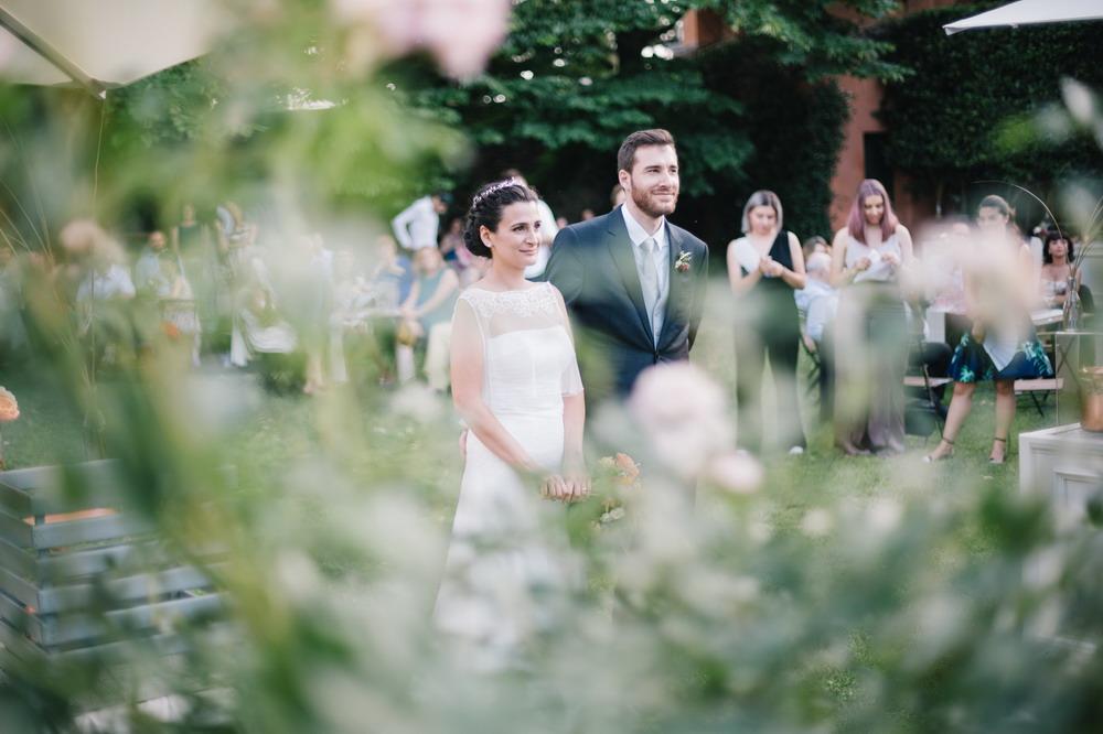ricevimento, ospiti e sposi, le spose di couture hayez