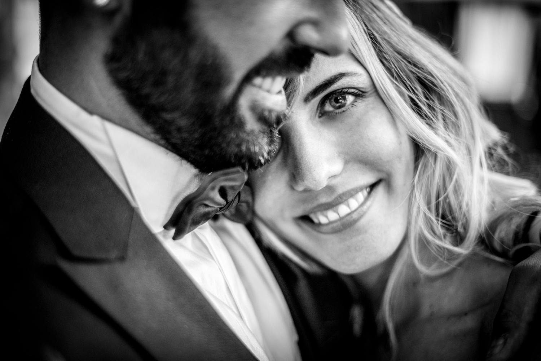 sorriso, sposi, primo piano foto sposi, francesco brunello photography