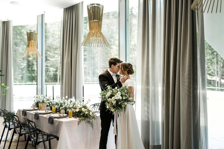 sposi veri, shooting in hotel Davos, venue luxury, wedding luxury , bridal lux