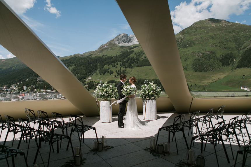 nozze al'hotel intercontinental, davos, svizzera, sposi fra le montagne, cerimonia luxury, wedding luxury , bridal lux