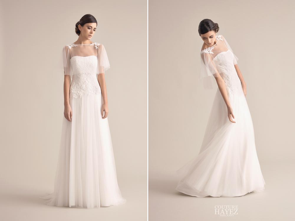 tendenze sposa 2019, collezioni sposa 2019, couture hayez 2019, abito da sposa elegante