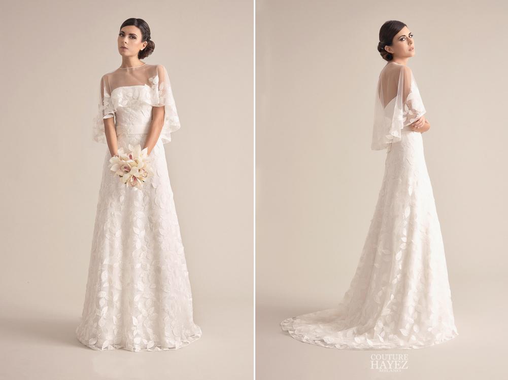 tendenze sposa 2019, collezioni sposa 2019, couture hayez 2019, abito sposa vintage, alta moda sposa