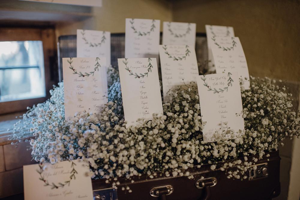 Tableau Matrimonio Natalizio : Giulia e adriano un romantico matrimonio natalizio a dicembre