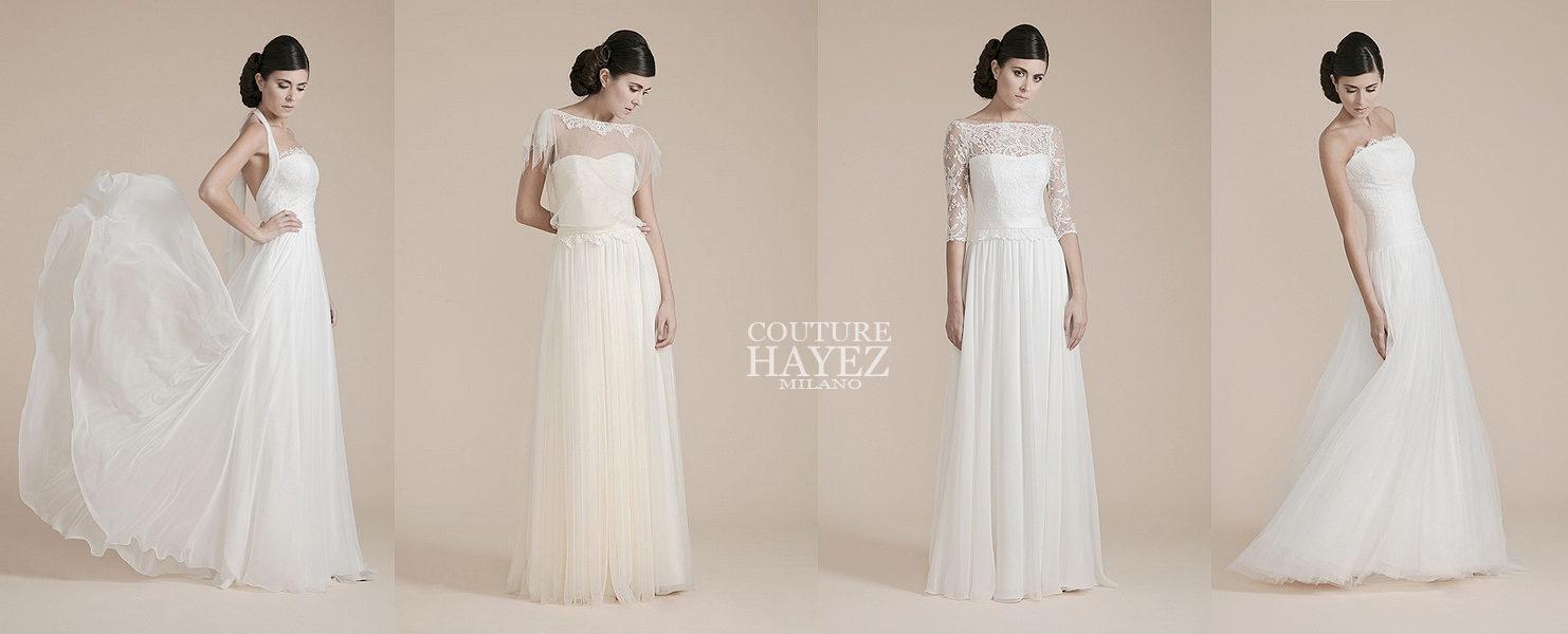 c1ae86db33b6 Scopri la Leggerezza della nuova Collezione sposa Couture Hayez ...