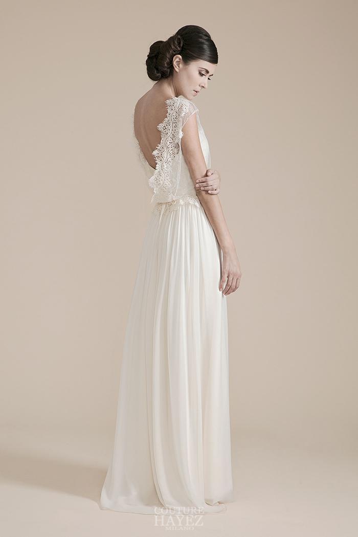 abito sposa blusa in pizzo, coprispalle sposa in pizzo, abito sposa bohemian style