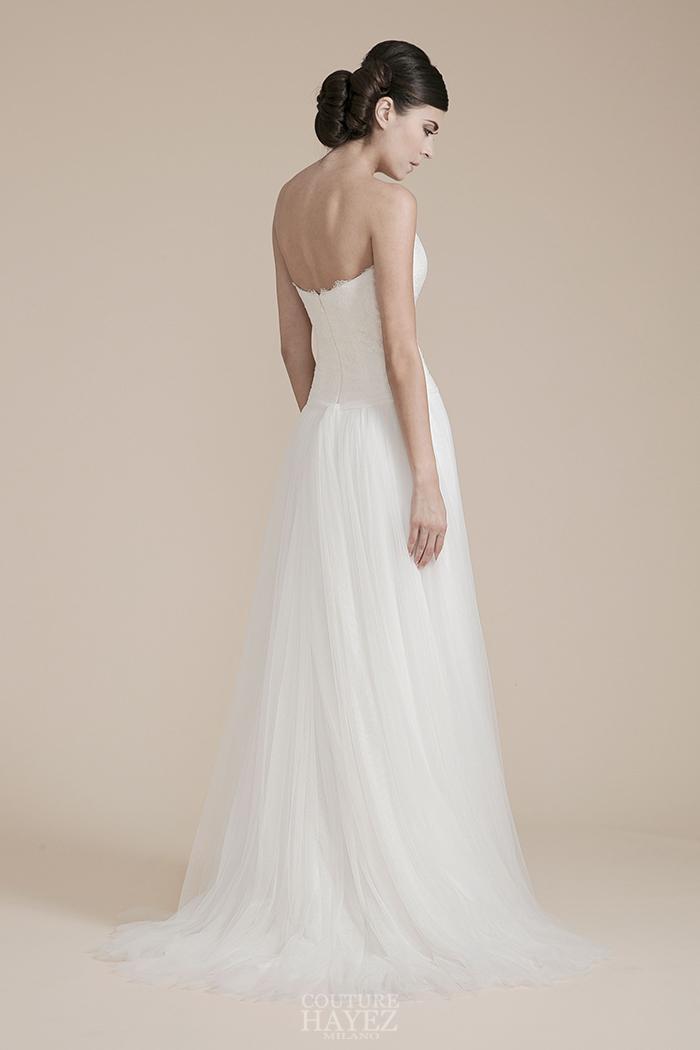 abito sposa leggero, abito sposa tulle morbido, abito sposa tenue