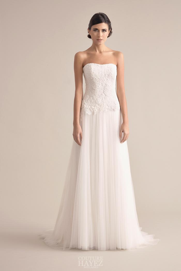 abito sposa intarsi in pizzo, abito sposa lavorazioni couture, abiti sposa lavorati a mano