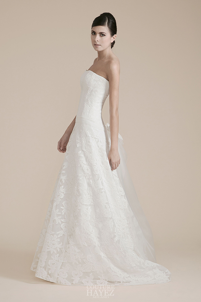 abito sposa pizzo leggero, abito sposa mezza sirena
