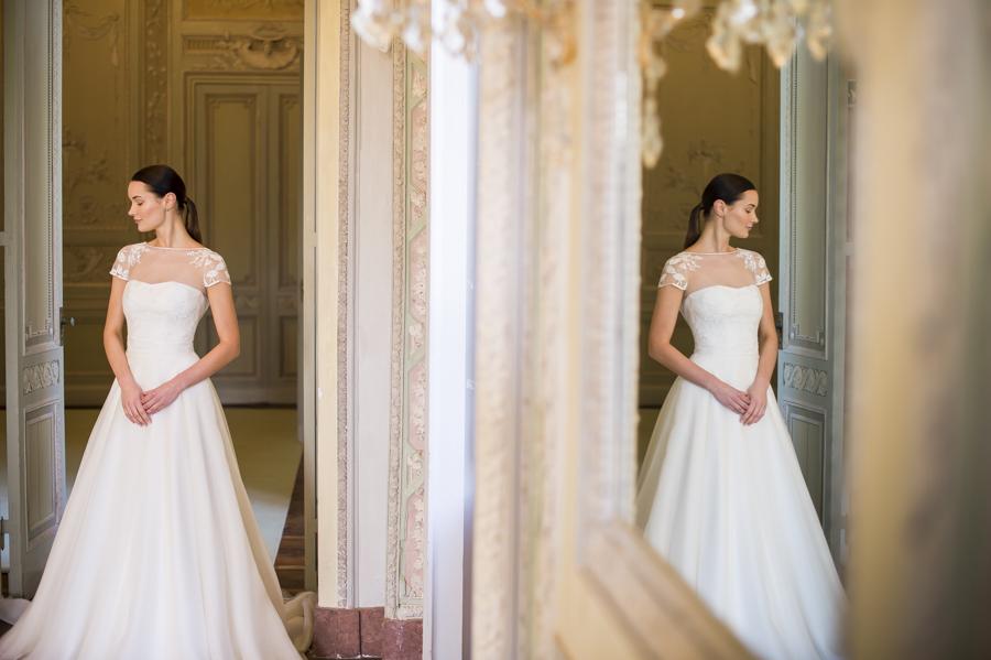 abito da sposa couture hayez, collezione eleganza sposa