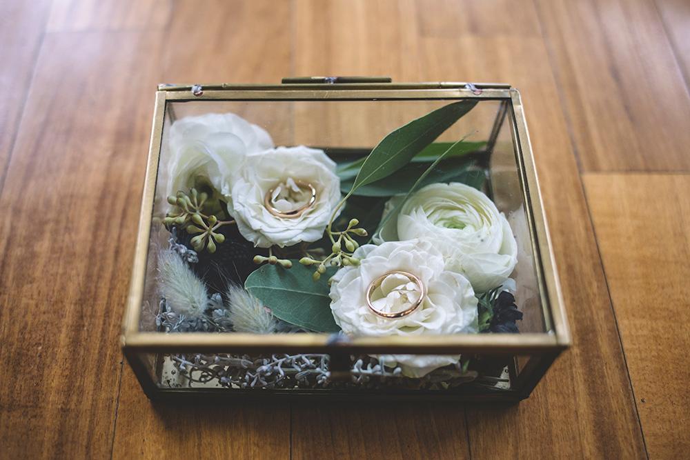 scatolina vetro portafedi, scatolina vintage matrimonio, portafedi