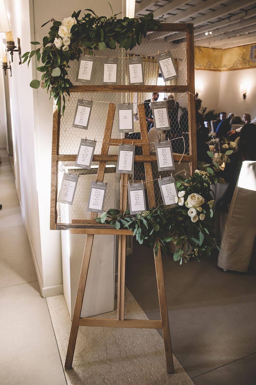 tableau mariage, segnaposti tavoli green, tableau botanico alternativo
