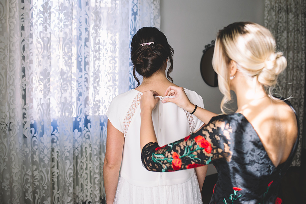 crop top sposa couture hayez, le spose couture hayez, acconciatura sposa raccolta