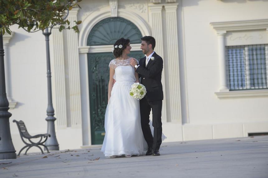 matrimonio a Grottaglie, foto sposi tramonto