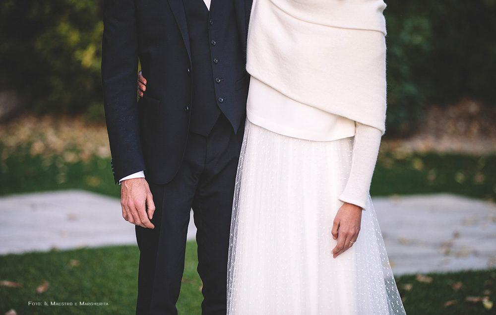 new style df372 6ac96 Coprispalle Sposa in Maglia per il tuo matrimonio invernale ...