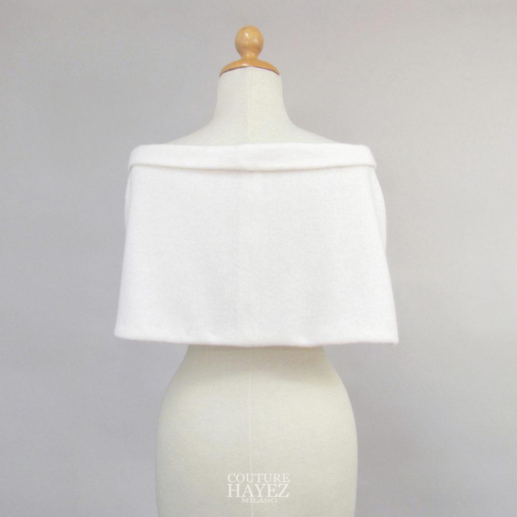 mantella sposa in maglia, coprispalle piccolo in maglia, coprispalle sposa invernale