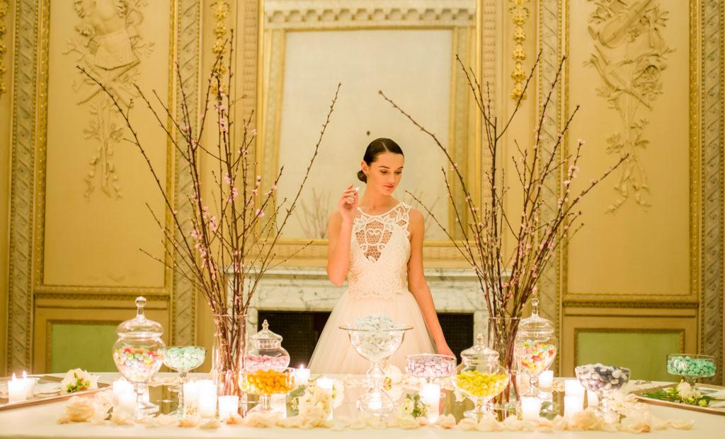 tavolo confettata matrimonio reggia di monza