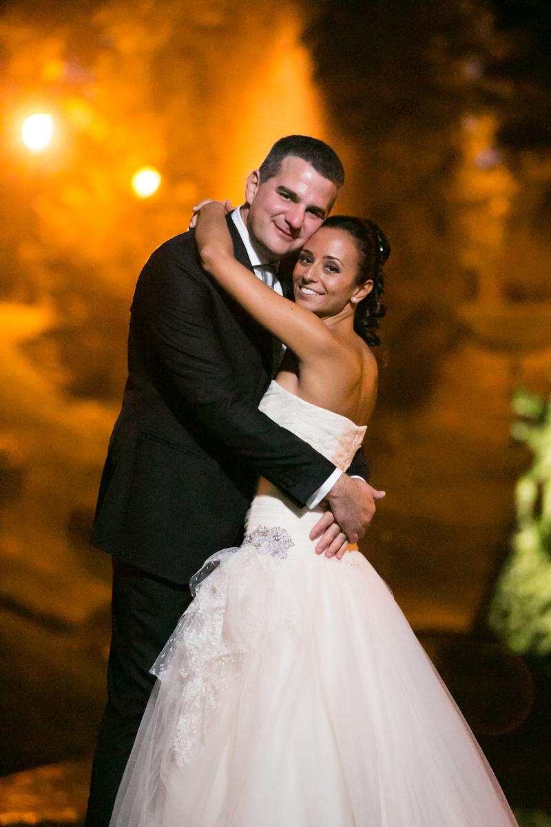 foto sposi, michele dell'utri