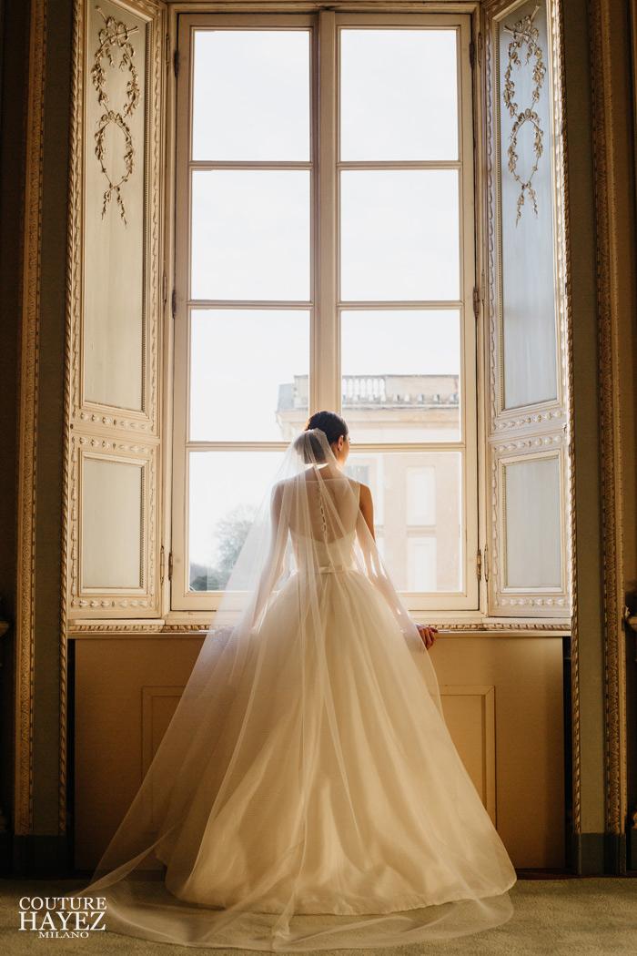 abito da sposa senza maniche anni 50, abito sposa bon ton