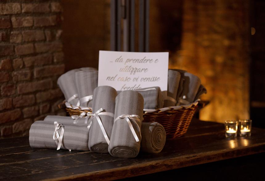 wedding favours per gli ospiti, pashmine