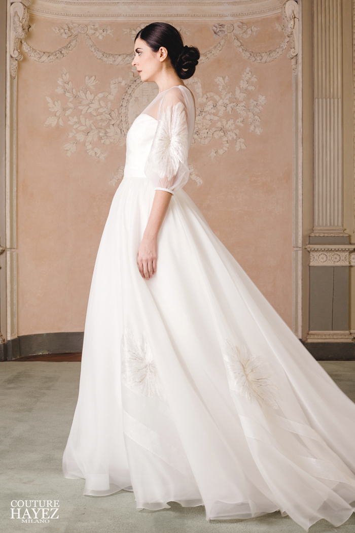 the latest 440c8 4224c Abito da Sposa in seta realizzato interamente in Italia ...