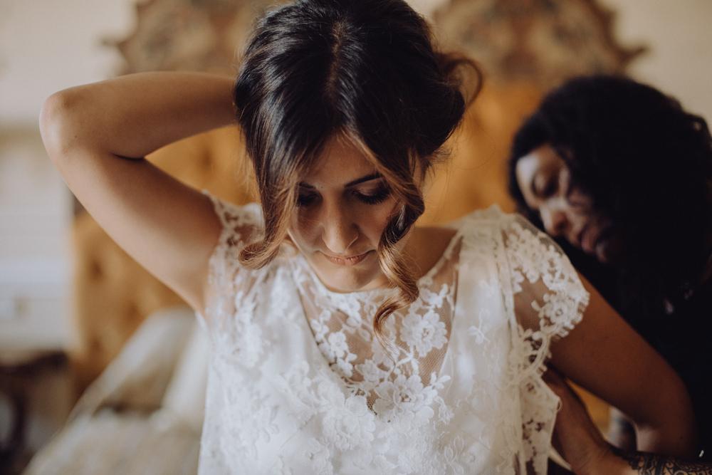 la vestizione della sposa, sposa a roma, abito sposa per ottobre