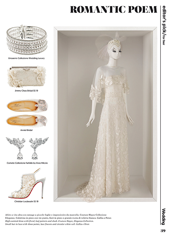 couture hayez on wedding vogue, vestiti da sposa couture, abiti da sposa italiani