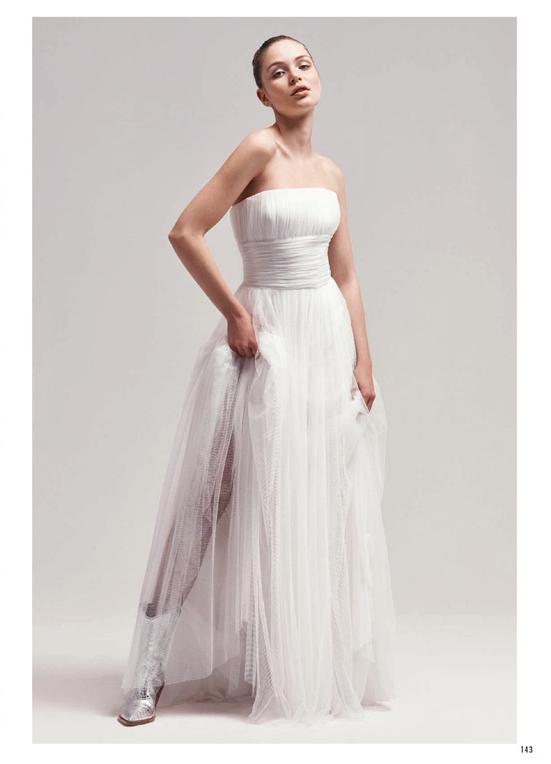 couture hayez sposa su elle, abiti da sposa in tulle, marchi abiti sposa italiani