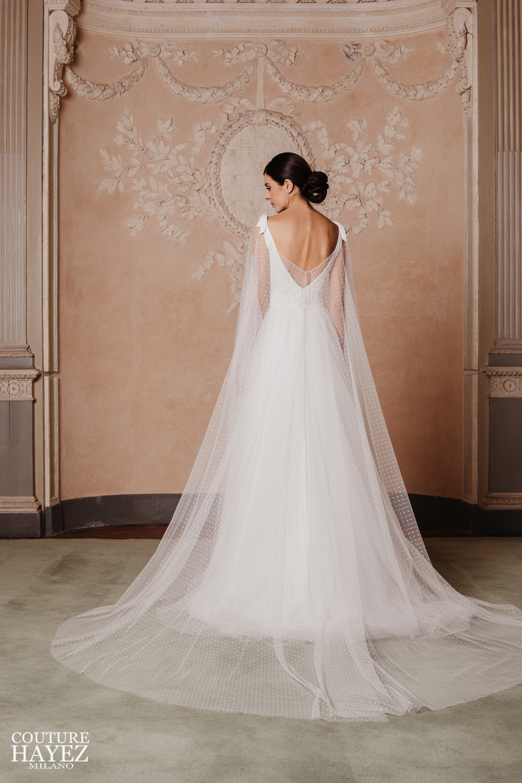 abiti sposa con schiena scoperta, couture hayez 2020, abiti sposa raffinati, abiti sposa milano
