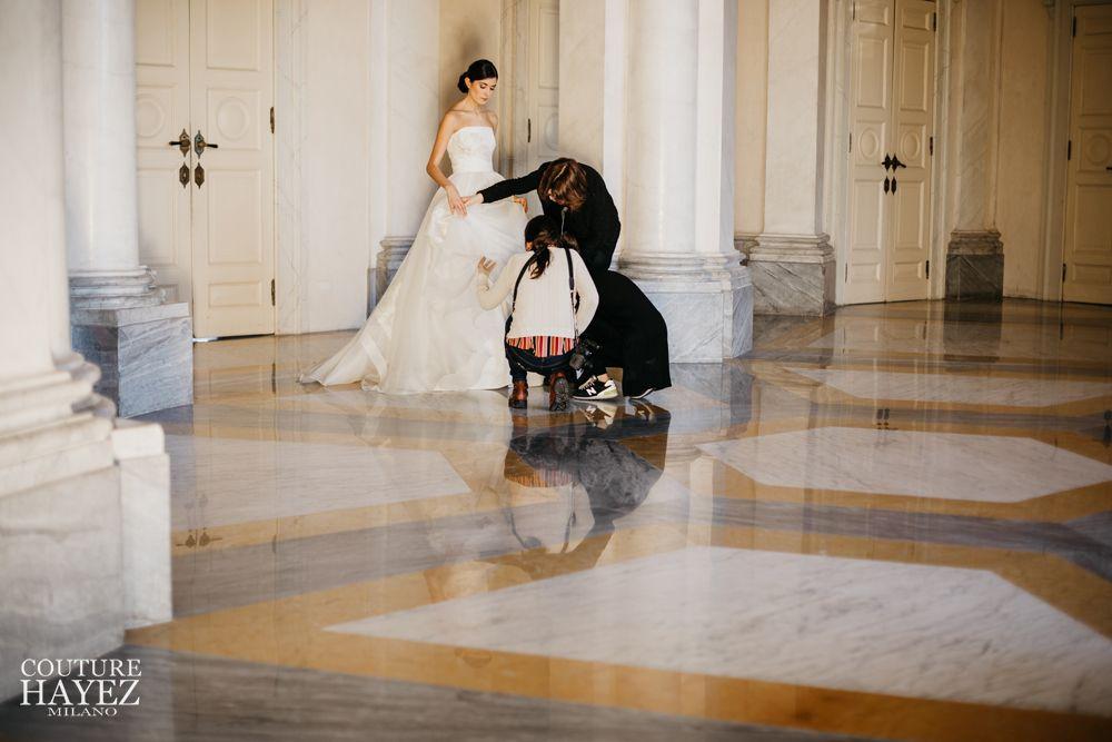 abito sposa senza spalline, corpetto sposa ricamato