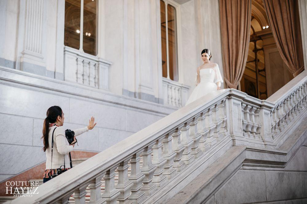 marian duven fotografa, couture hayez abiti da sposa