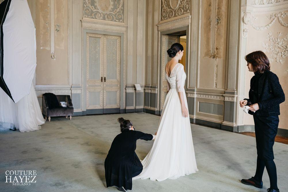 shooting sposa 2020, reggia di monza